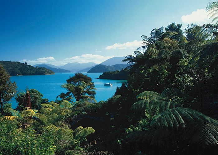 View from Peppers Portage Resort Hotel, The Marlborough Sounds
