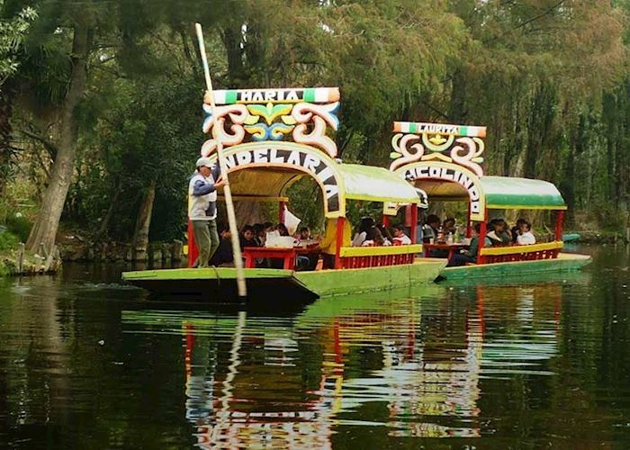 Xochimilcon Floating Gardens