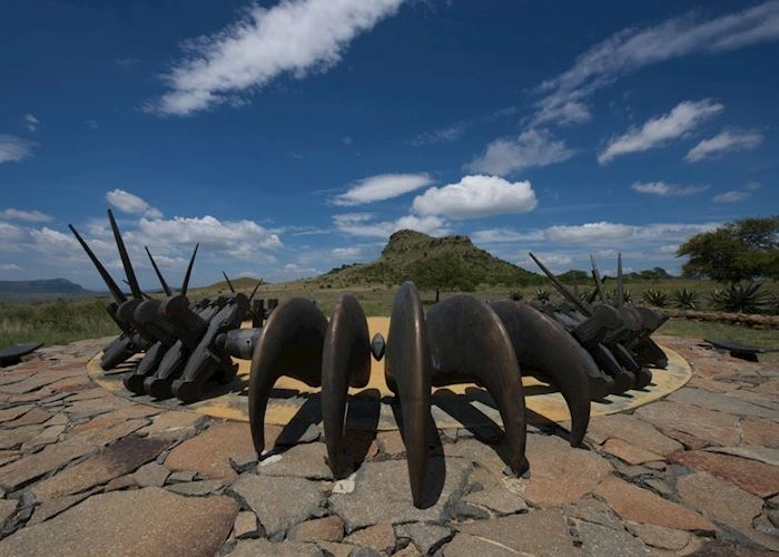 Zulu memorial, The Battlefields, South Africa