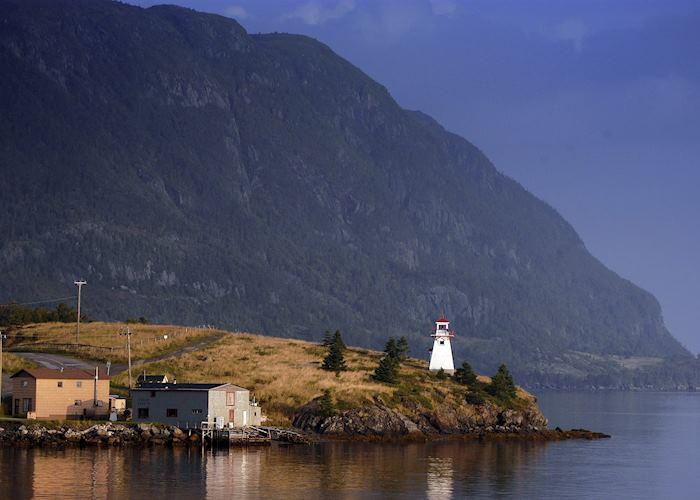 A lighthouse in Gros Morne National Park