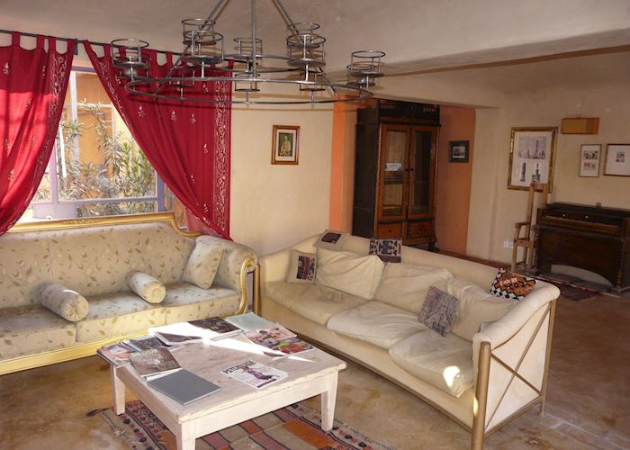 Lounge, Feynan Lodge, Dana Nature Reserve
