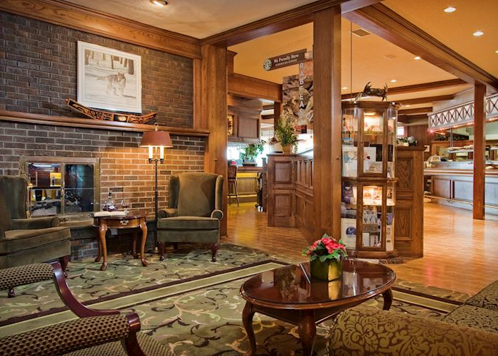 Lobby of the Crest Hotel, Prince Rupert
