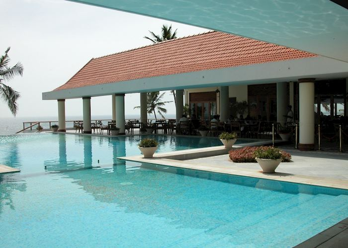 Infinity Pool, The Leela, Kovalam