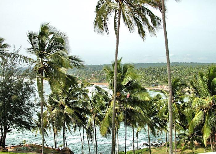 View of Leela Beach from The Leela, Kovalam