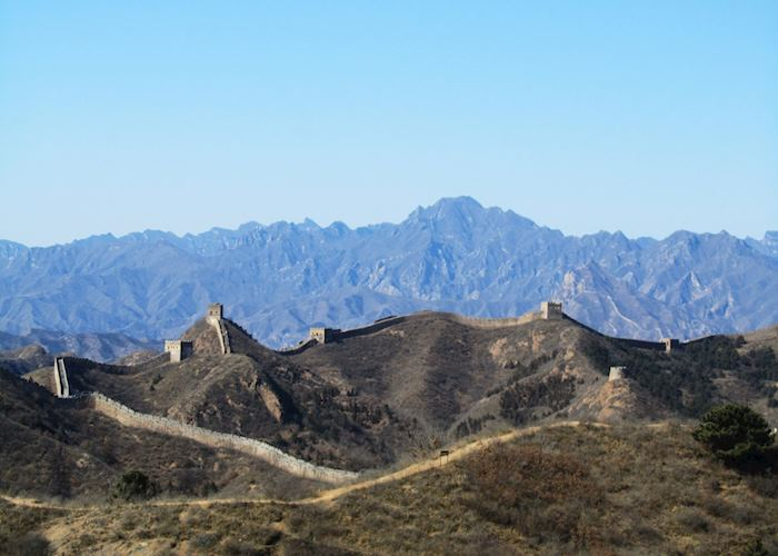 The Great Wall at Jinshanling, Beijing, China