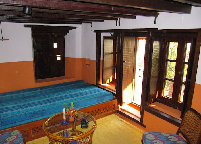 Downstairs in Large Cottage, Namobuddha