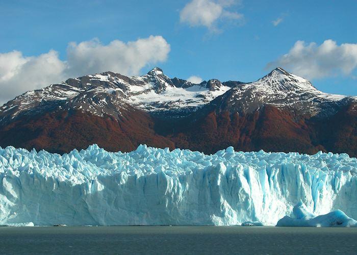 Autumn Colours at Perito Moreno Glacier