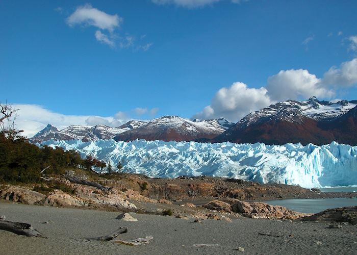 Heading to Perito Moreno Glacier for trekking