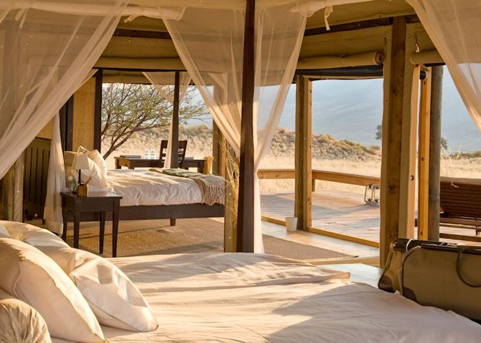 Family room at Wolwedans Dune Lodge, NamibRand Nature Reserve