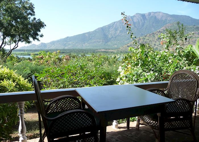 Sit out overlooking the Western Ghats, Cardamom House, Dindigul