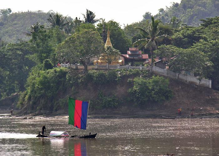 Chindwin River, Mrauk U