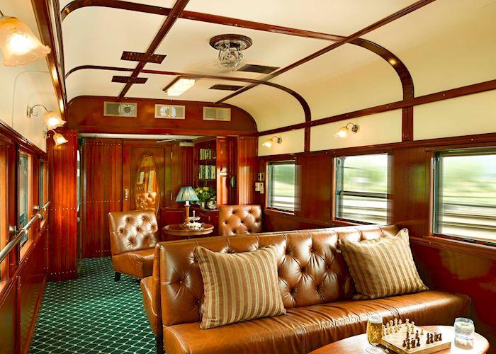 Club lounge, Rovos Rail