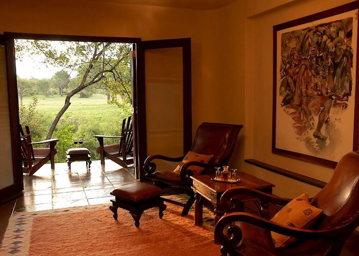 Suite lounge, Sabi Sabi - Bush Lodge, The Sabi Sand Wildtuin