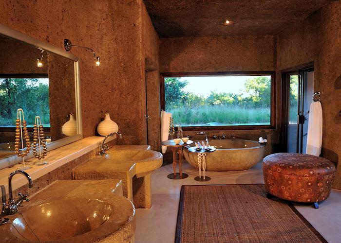Amber Presidential Suite, Sabi Sabi Earth Lodge, The Sabi Sand Wildtuin