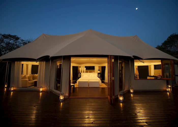 Honeymoon tent, Thanda Tented Camp, Thanda Private Reserve