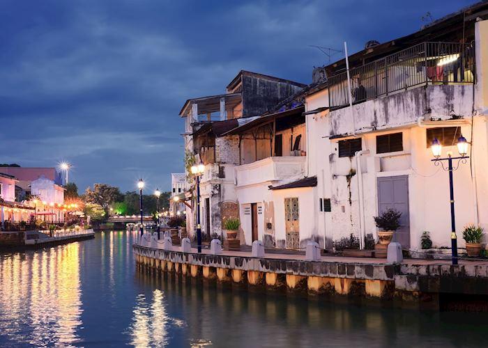 Malacca at dusk
