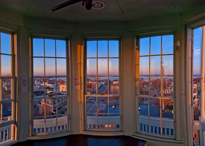 The view from Portland Observatory