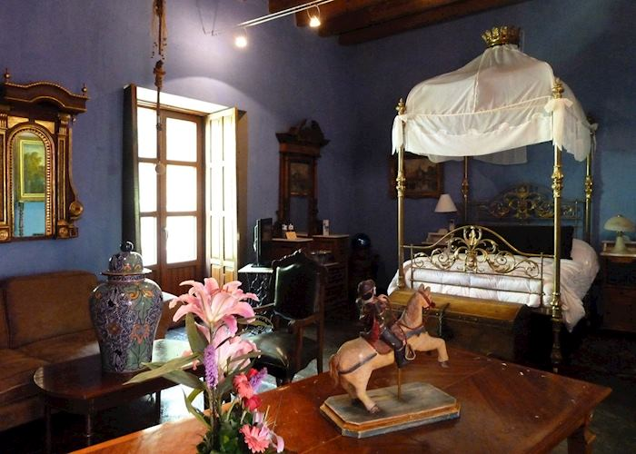 Bedroom, Meson de la Sacristia de la Compania, Puebla