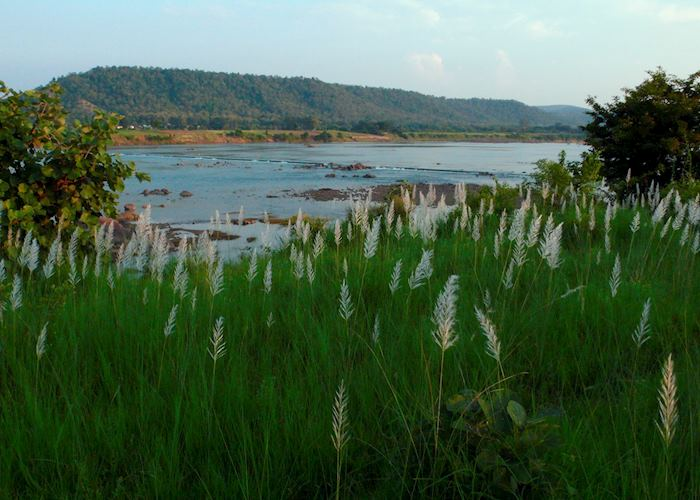 View of the Ken River from The Sarai at Toria
