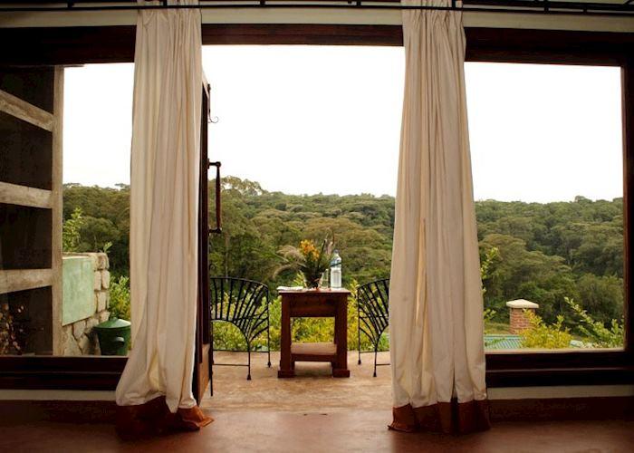 View from room, Endoro Lodge, Karatu