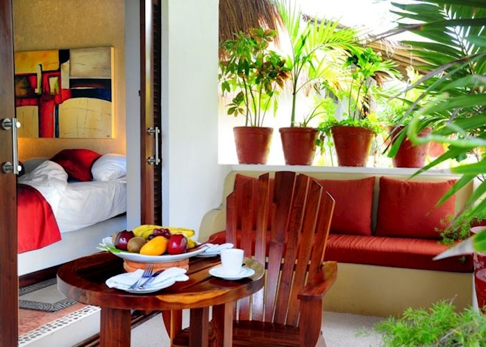 Garden view room, Hotel Ana & Jose, Tulum