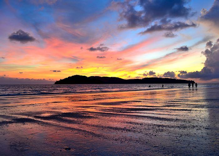 Spectacular sunset, Pantai Cenang, Langkawi