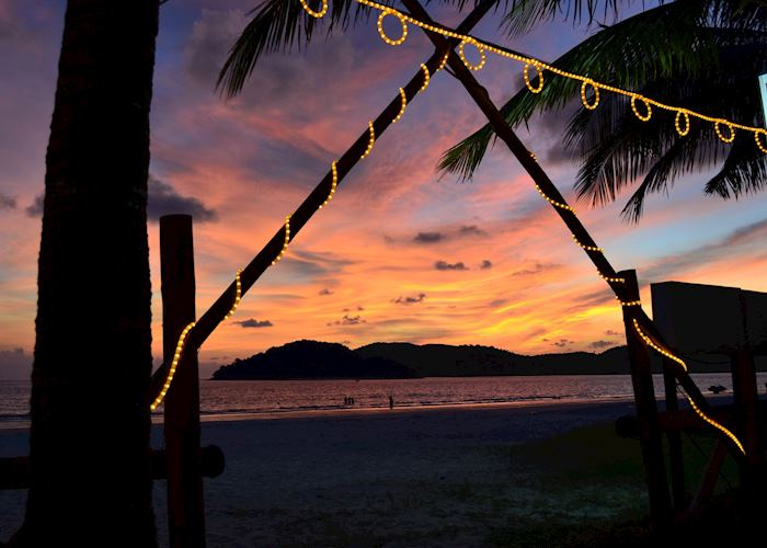 Sunset from the Beach Garden Restaurant, Cenang, Langkawi
