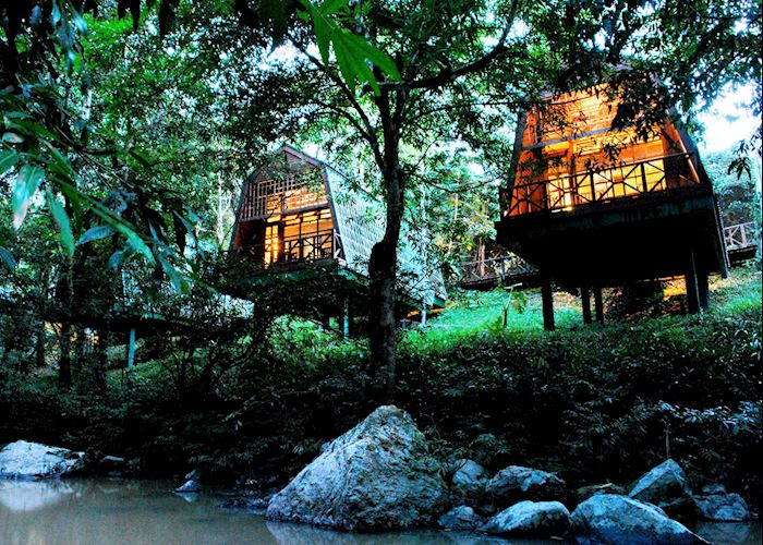 River lodges, Tabin Wildlife Resort, Tabin Wildlife Reserve