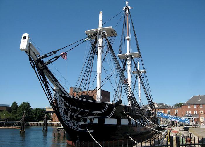 USS Constitution, Charlestown