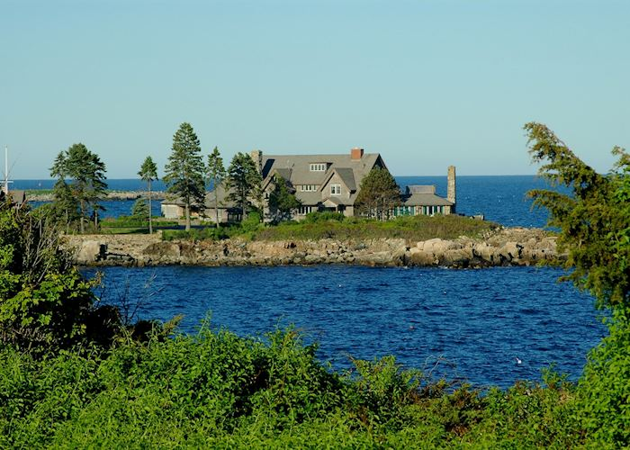 The Bush family holiday home, Kennebunkport