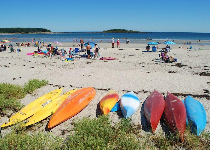 Goose Rocks Beach, Kennebunkport, Maine