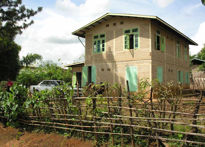 Local house at Thay et Pya village, PIndaya