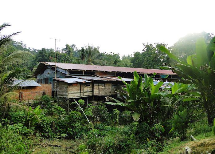 Iban Longhouse, Lemanak River