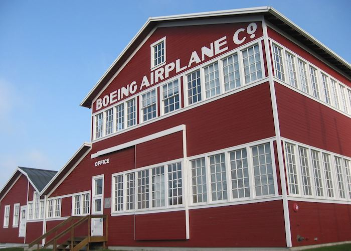 Boeing's Red Barn at Seattle's Museum of Flight
