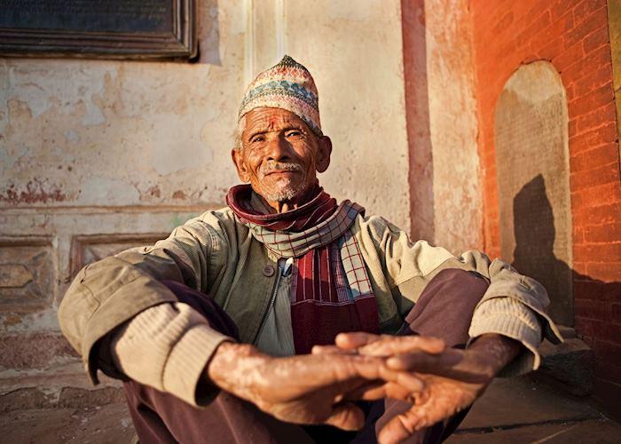 Old Nepali man