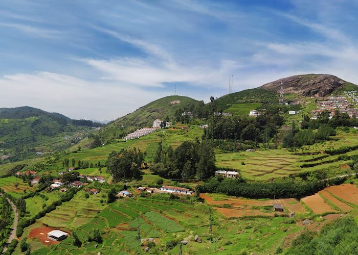 The countryside around Ooty