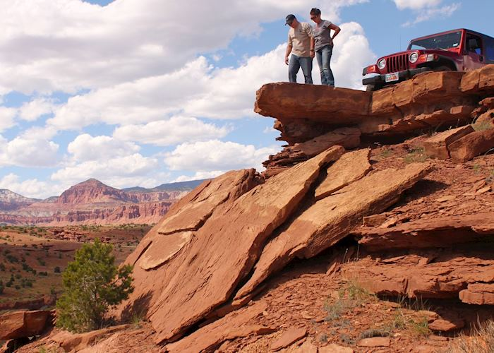 Admiring the views in Capitol Reef National Park