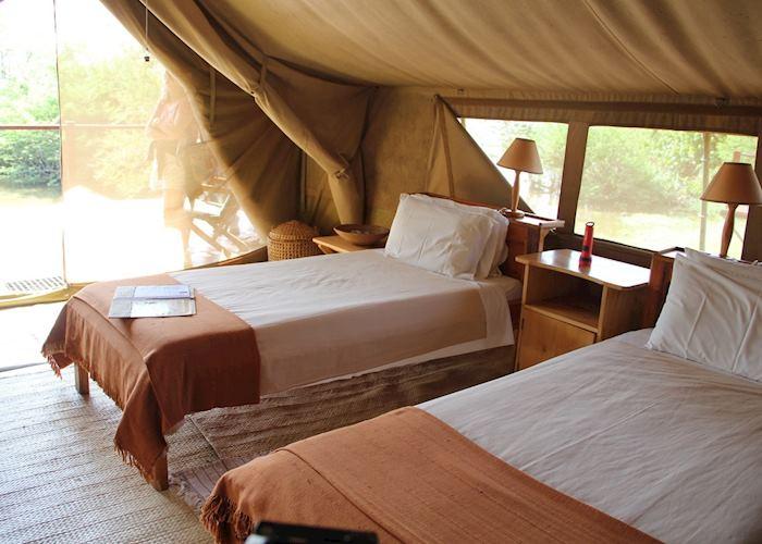 Ngamba Island Tented Camp, Ngamba Island Chimpanzee Sanctuary