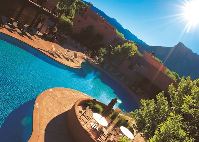 Gateway Canyons Resort swimming pool