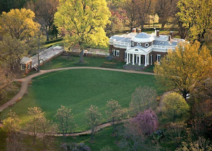 Thomas Jefferson's Monticello, near Charlottesville, Virginia