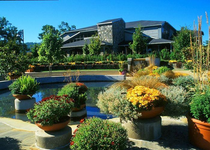 North Carolina Arboretum near Asheville