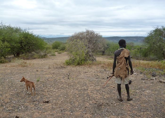 Hunting with the Hadzabe, Lake Eyasi, Tanzania