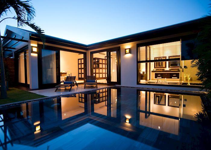 A Pool Villa at the Fusion Maia