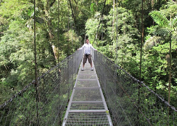 Hanging Bridges, Arenal Volcano