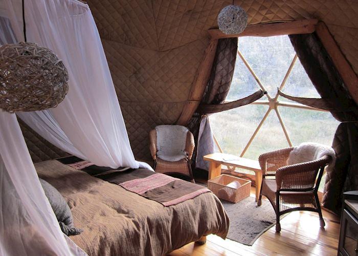 Suite dome, Eco Camp, Torres del Paine National Park