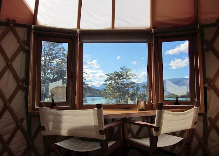 Standard Yurt, Patagonia Camp edge of Torres del Paine National Park