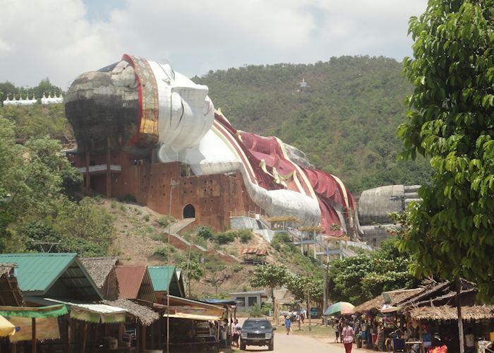 Win Sein Taw Ya, South of Mawlamyine, Burma (Myanmar)