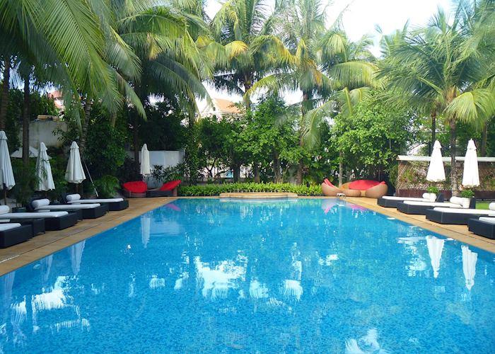 Pool Area, Villa Song, Saigon