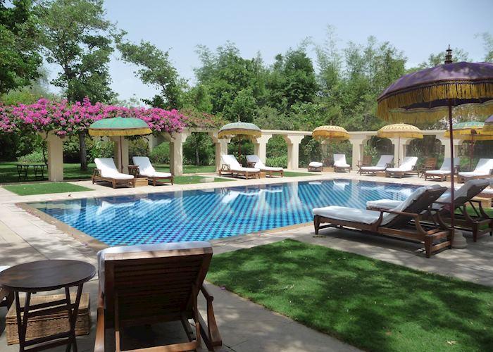 Swimming pool, Vanyavilas <<Full advance 90 days before arrival Pushkar & NY period CLOSED 1JUL-30SEP>>,Ranthambhore National Park