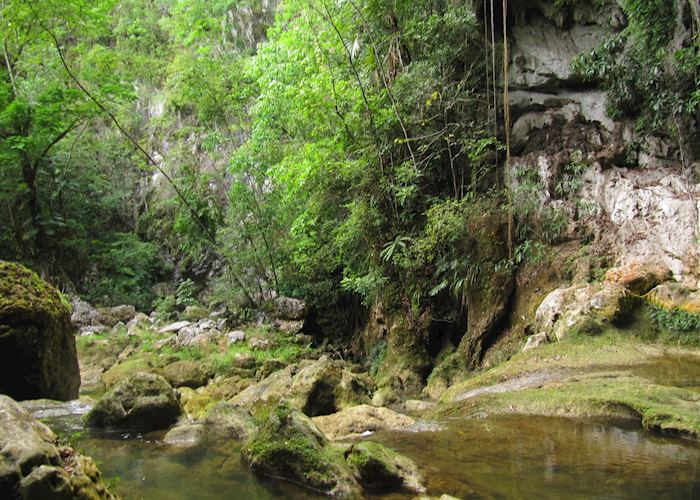 Blue Creek Cave, Punta Gorda